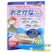 Gia vị rắc cơm Hello Kitty hình cá