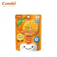 Kẹo chống sâu răng Teteo Combi hương cam