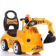 Xe chòi chân cần cẩu cho bé HZ5166 (Vàng Đen)