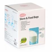 Túi trữ sữa mẹ và thức ăntrực tiếp Unimom(20 túi)