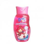 Tắm gội toàn thân D-nee Kids hồng 200ml