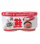 Ruốc cá hồi Nhật Bản Happy Salmon Flakes (50g x 2 lọ)