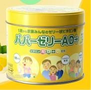 Kẹo vitamin biếng ăn Nhật Bản 160 viên (Mẫu mới)