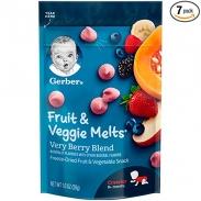 Sữa chua khô Gerber(hoa quả tổng hợp)(28g) (6m+)