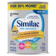 Sữa Similac Pro Advance HMO (NON GMO) (873g) (0-12 tháng tuổi)