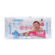 Khăn ướt cho răng, miệng Upass UP6038D (80pcs)