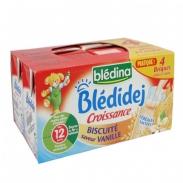 Sữa tươi Bledina vị bích quy, va ni 12M 250ml