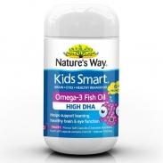 Kẹo viên Nature's way Omega 3 vị nho - 500mg
