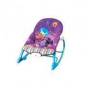 Ghế rung Konig kids có nhạc và đồ chơi KK63562 - Tím