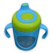 Cốc tập uống chống tràn Ami xanh (250ml) (6m+)