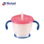 Cốc tập uống 3 giai đoạn Richell (xanh) RC41011
