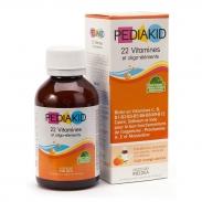 Pediakid 22 vitamines bổ sung 22 vitamin - 125ml