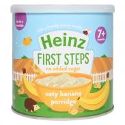 Cháo Heinz yến mạch chuối 240g (7m+)