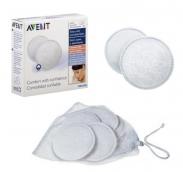 Miếng lót thấm sữa (giặt được) Avent SCF155/06