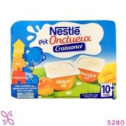 Sữa chua Nestle vị Xoài mơ (6 x 60g) (10m+)
