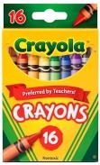 Bộ bút sáp 16 màu crayola - Crayons
