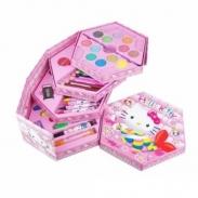 Hộp bút chì màu 4 tầng 46 món (Hello Kitty)