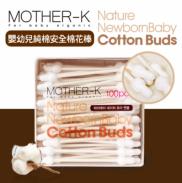 Tăm bông sơ sinh Mother-K Hàn Quốc (100 chiếc)
