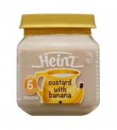 Dinh dưỡng đóng lọ Heinz vị chuối (110g)(6m+)