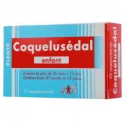 Thuốc ho Coquelusedal đút hậu môn (30 tháng-15 tuổi)