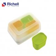 Bộ chia thức ăn 2 màu Richell RC49700