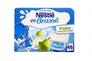 Sữa chua Nestle vị Lê (6x60g) (4-6m)