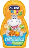Sữa tắm gội 2in1 Onlinekids hương dứa (250ml)