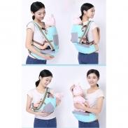 Địu ngồi cho bé siêu nhẹ và êm Baby Lab (6in1)