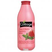 Sữa tắm Cottage 750ml (Dâu Tây-Bạc Hà)