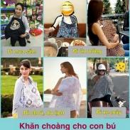 Khăn Choàng Cho Con Bú