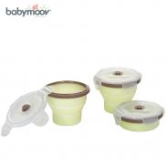 Bộ 3 bát chia silicon Babymoov BM00988