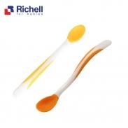 Bộ 2 thìa mềm Richell (vàng- cam) RC98687