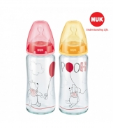 Bình sữa NUK thủy tinh Disney 240ml (Silicone)
