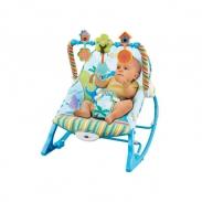 Ghế rung Konig kids có nhạc và đồ chơi KK63562 - Xanh