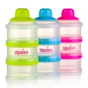 Hộp đựng sữa bột có vách ngăn Upass UP8015
