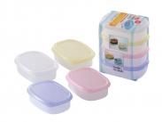 Hộp trữ thức ăn Million pack 80ml (4pcs) (-20 +140*C)