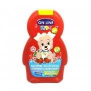 Sữa tắm gội 2in1 Onlinekids hương cherry (250ml)