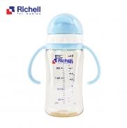 Bình ống hút PPSU Richell 260ml (xanh) RC99128