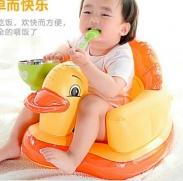 Ghế hơi tập ngồi Tomy Baby