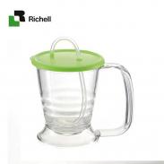 Cốc ống hút mềm TI -2 chức năng Richell RC18421