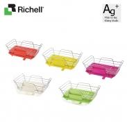 Giá úp bát đĩa kháng khuẩn (có khay) Lei Richell