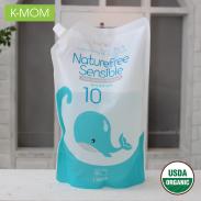 Nước xả vải sơ sinh thảo dược Kmom(1.3L)KM13127