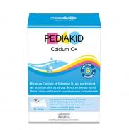 Vitamin PediaKid Calcium C+ bổ sung canxi 14 gói