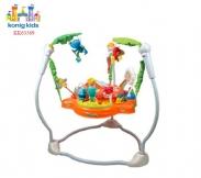 Ghế nhún cao cấp cho bé Konig-Kids  có nhạc và bàn chơi
