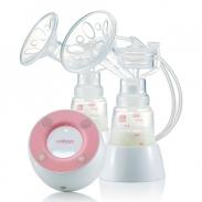 Máy hút sữa điện đôi không BPA Minuet Eco kèm Adapter
