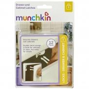 Khóa an toàn ngăn kéo Munchkin 35026 (12 chiếc)