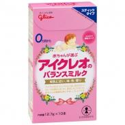 Sữa Glico Icreo số 0 (0-9m) (dạng thanh) (12.7g*10)