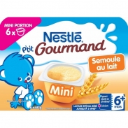 Váng sữa Nestle P'tit Gourmand vị lúa mạch