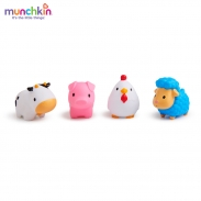 Đồ chơi bộ 4 sinh vật nông trại Munchkin MK43882