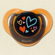 Ty ngậm Combi Teteo trái tim size M 3M+